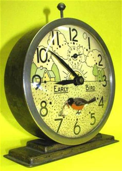 vintage 1933 westclox animated early bird alarm clock gwo nr find antique antique price