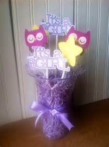 owl baby shower centerpieces owl baby shower centerpiece purple owl it s by jscraftdesigns