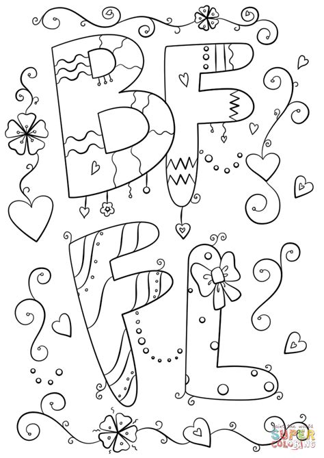 imagenes para amigas para dibujar dibujo de mejores amigos para siempre para colorear