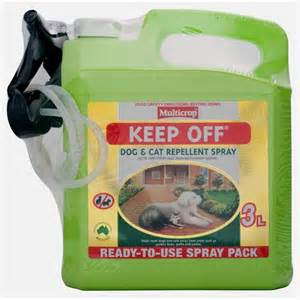 multicrop 3l keep off dog and cat repellent bunnings