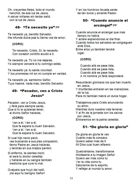 cadenas de coros cristianos evangelicos letras himnos cristianos viejitos pero bonitos