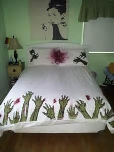 Blood Bath Shower Gel zombie apocalypse bedding dudeiwantthat com