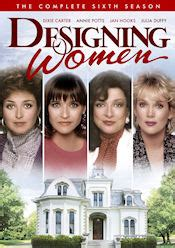 designing women theme song designing women the complete sixth season dvd review
