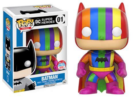 Funko Pop Batman Blue Rainbow 75th Anniversary Batman batman 75th anniversary rainbow batman pop vinyl figure