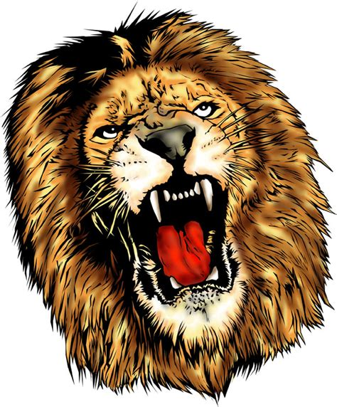 lion head tattoo design real photo pictures images and