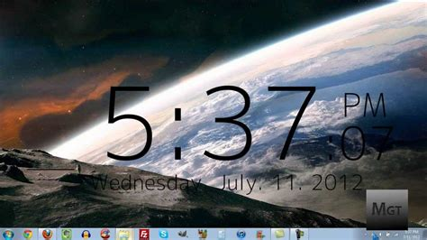 clock   desktop  windows youtube