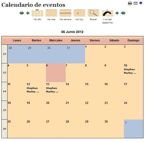 jevents layout view formato jevents