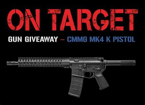 Guns Magazine Giveaway - gun giveaway on target magazine