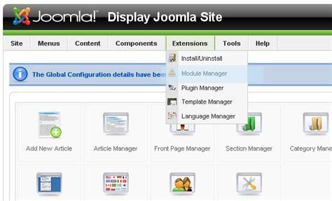 Trouble With Joomla Template Joomla Database Template