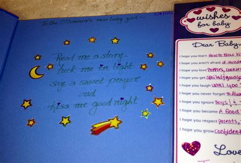 What To Write In A Baby Book For A Shower by Baby Poem To Write Inside Of Book Baby Quotes