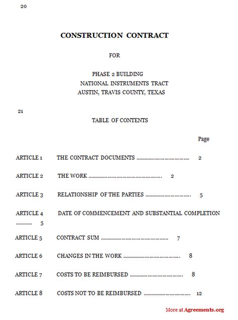 construction contract template selimtd
