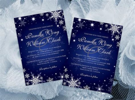 Microsoft Word Templates Place Holder Cards Winter by Diy Printable Wedding Invitation Card Template 2364699