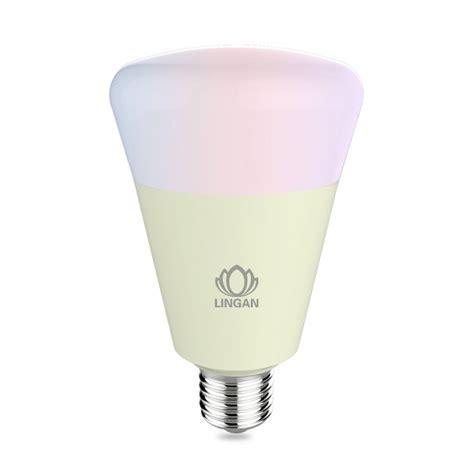 wi fi led light bulbs gateway to the smart home mit lingan lwe3 9w wi fi led smart light bulb