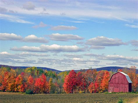 october in upstate new york photograph by byron varvarigos