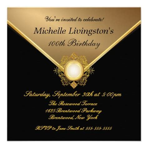 21 Best 100th Birthday Invitation Templates Images On Pinterest Birthday Invitations Birthday 100th Birthday Invitation Templates Free
