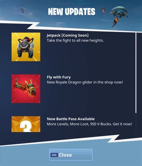 fortnite without epic account jetpacks are coming to fortnite battle royale
