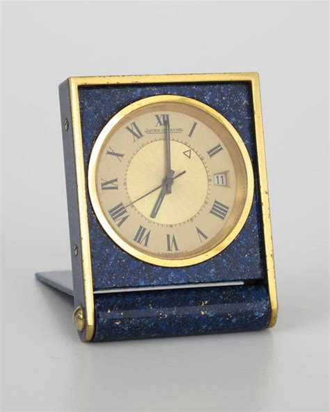 jaeger lecoultre lapis lazuli travel clock 1960s at 1stdibs