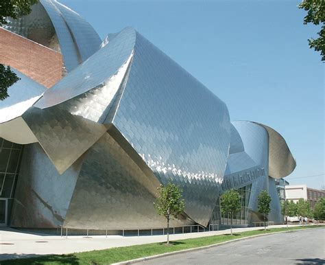 architects cleveland ohio b lewis building by frank gehry located in