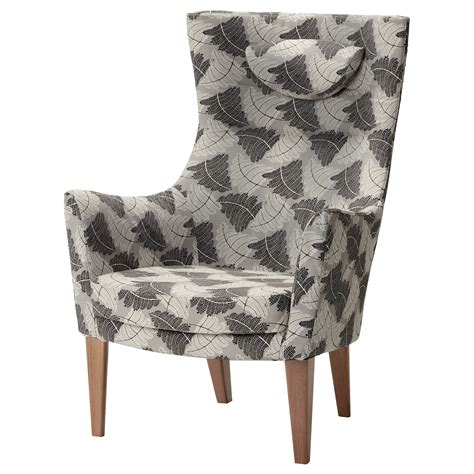 Stockholm High Back Armchair by Stockholm High Back Armchair Mosta Grey