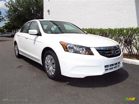 2012 honda accord colors 2012 taffeta white honda accord lx sedan 64663100