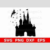 Disney Castle Silhouette With Tinkerbell | 570 x 398 jpeg 31kB