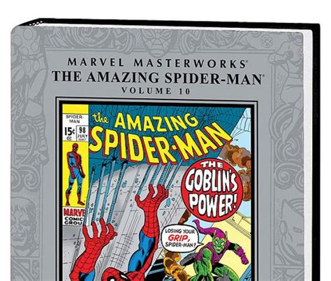 marvel masterworks the amazing spider volume 1 new printing marvel masterworks the amazing spider vol 10