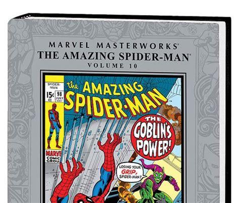 the amazing spider marvel spider golden book marvel masterworks the amazing spider vol 10