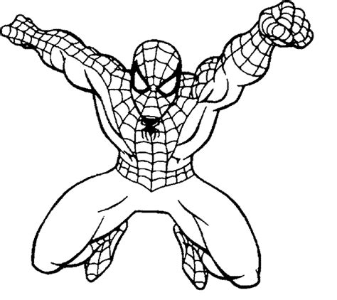 Download Coloring Pages Spiderman Color Pages Spiderman Coloring Pages On