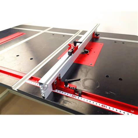 jual fence aluminium profile  slot  table