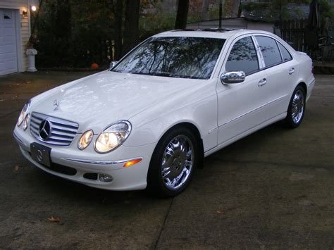 Mercedes 2004 E320 by Review Mercedes E320 2004 Allgermancars Net