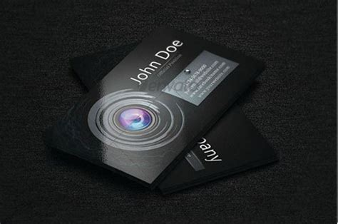 Photographer Business Card Template Photoshop
