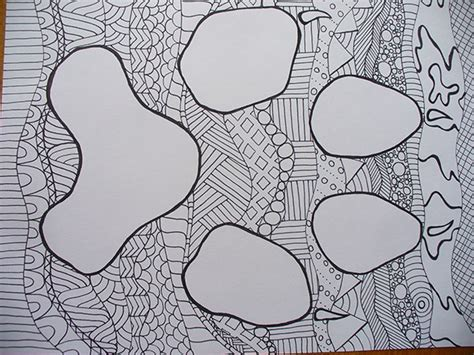 free coloring pages of zen doodle
