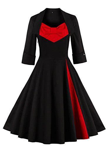 swing kleid langarm kleider vkstar in schwarz f 252 r damen