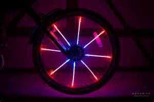 led bicycle lights radlicht led wheel lights for a bicycle