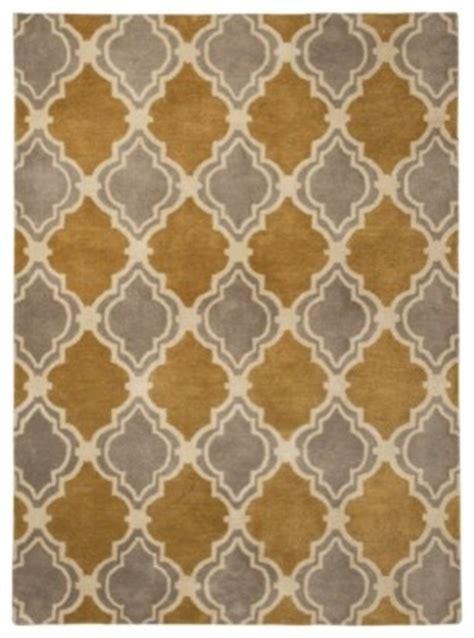 gold pattern area rug target wool rug roselawnlutheran
