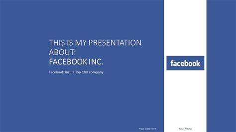 facebook powerpoint theme images