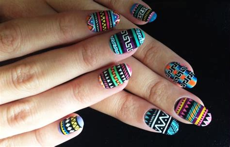 imagenes de uñas tribales dise 241 os de u 241 as tribales u 241 asdecoradas club