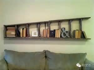 repurposed ladder decor ideas    love