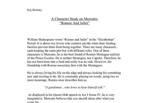 Tybalt And Mercutio Essay by Benvolio And Mercutio Comparison Essay Dissertationadviser X Fc2