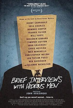 162 entrevistas breves con entrevistas breves con hombres repulsivos 2009 filmaffinity