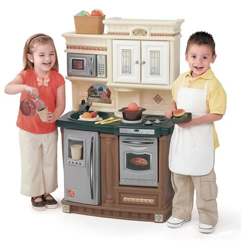 Step Two Kitchen by Lifestyle New Traditions Kitchen Play Kitchens By Step2
