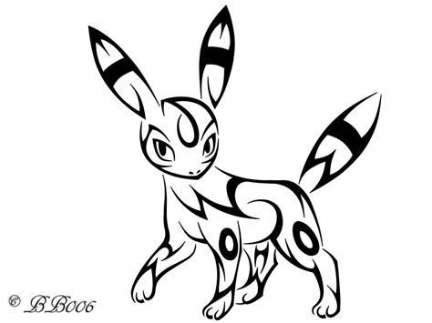 pokemon tribal tattoo tribal umbreon by blackbutterfly006 anime