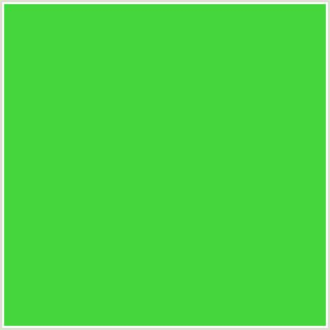emerald green hex code 44d63c hex color rgb 68 214 60 emerald green