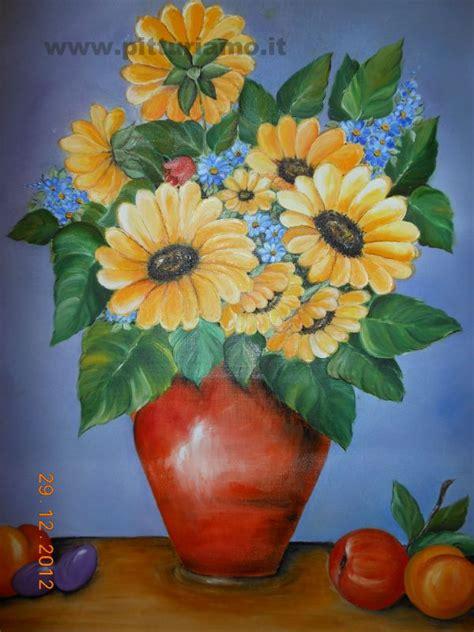 immagini di vasi con fiori quadro in esposizione vaso di fiori perrone