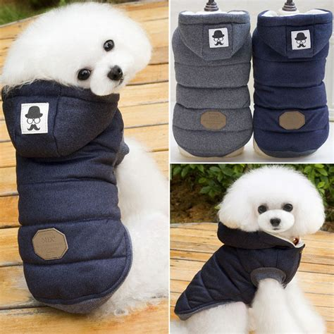 Pet Cat Puppy Sweater Hoodie Coat Clothes Warm Costume Apparel New puppy pet cat clothes hoodie winter warm sweater coat costume apparel ebay