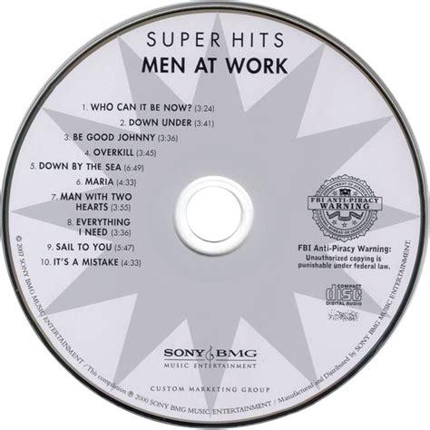 Cd Mens index of caratulas m men at work