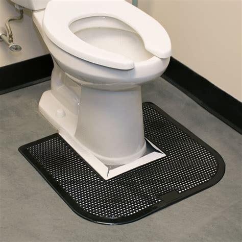 Disposable Toilet Mats by 23 Quot X 22 Quot Black Disposable Toilet Floor Mat Imp 1550 5