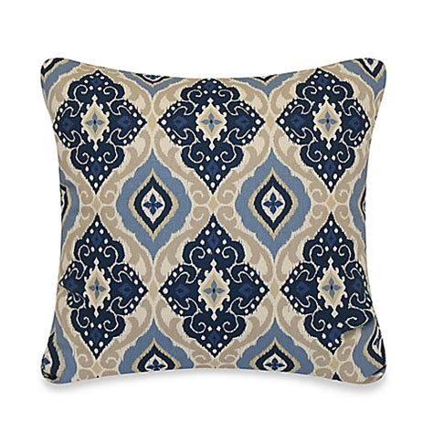 Jabari Throw Pillow In Blue Bed Bath Beyond Bed Bath And Beyond Sofa Pillows