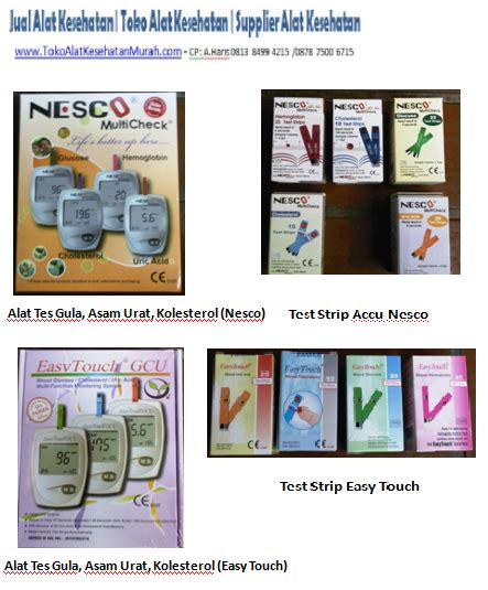 Jual Alat Tes Gula Darah Jakarta toko alat kesehatan supplier alat kesehatan jual alat