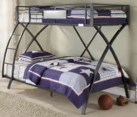 metal bunk beds twin over full images